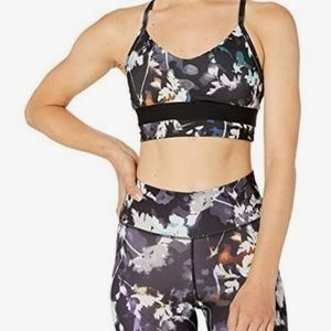 Nike Indy Printed Racerback Low-Impact Sports Bra